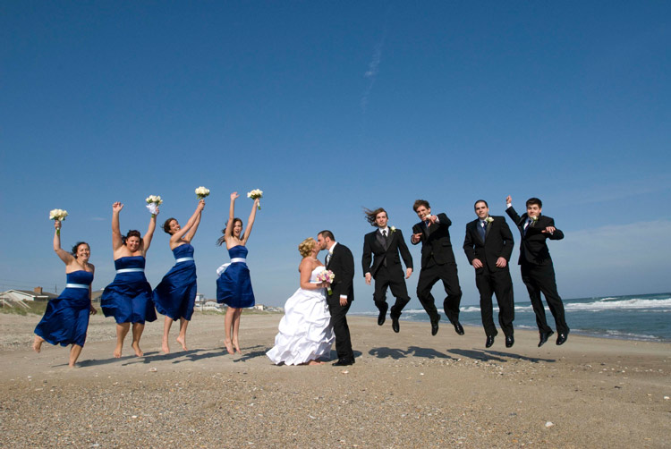 Enjoy Blue Green Beach Marriage