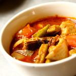 guali tumis thai kitchen plate